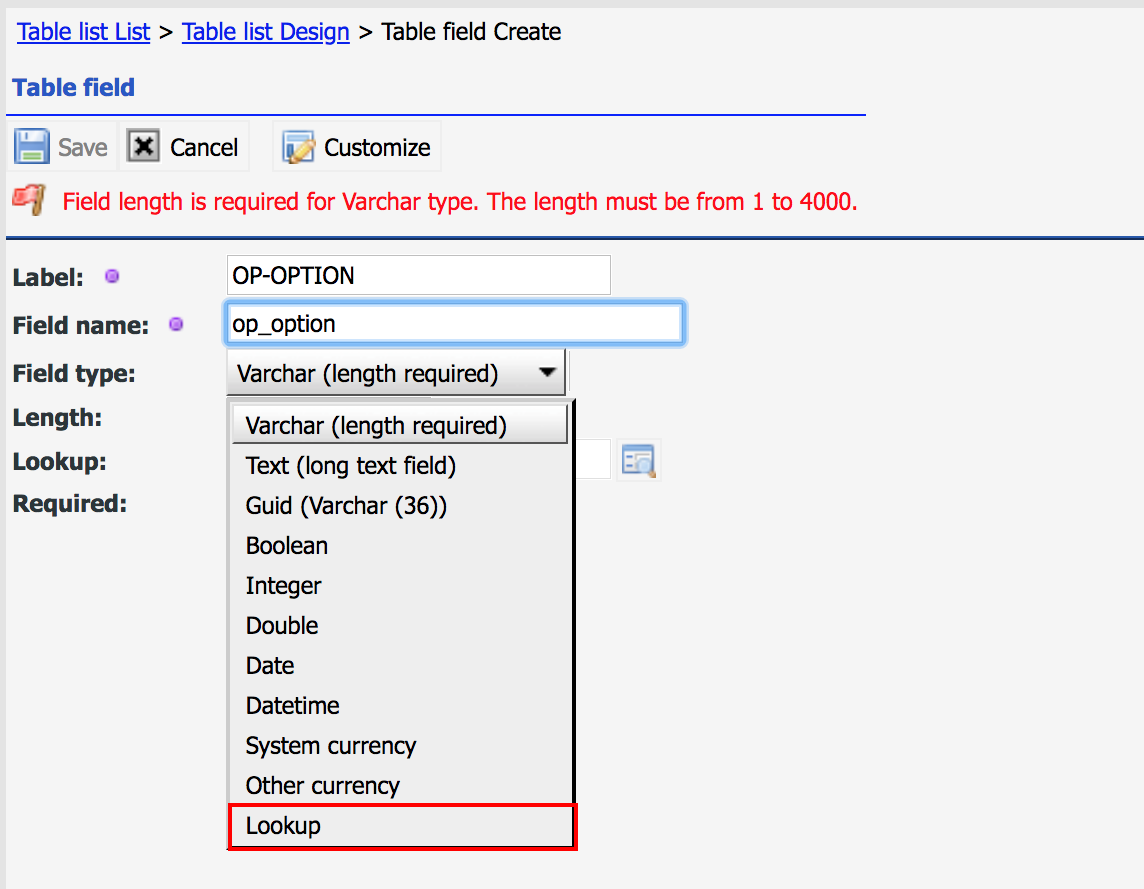 When to Use Dropdown and Lookup Custom Fields