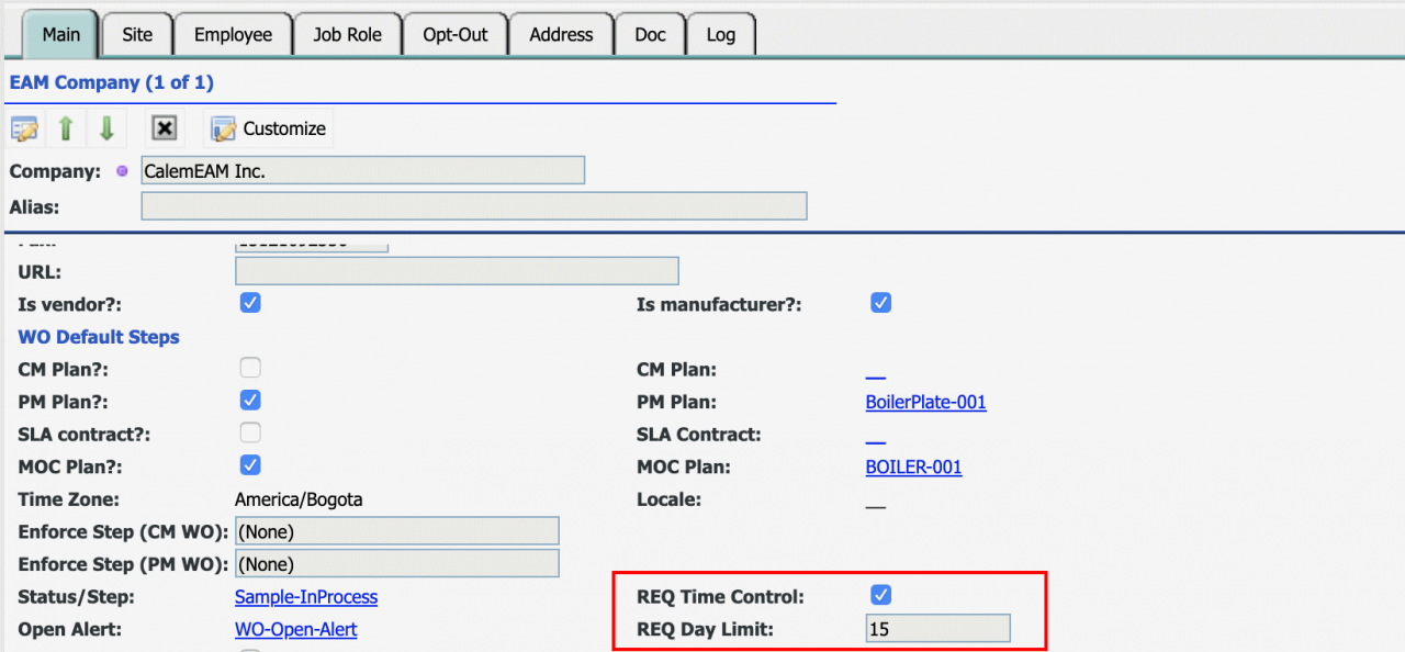 How to Set up Requisition Overdue Notification