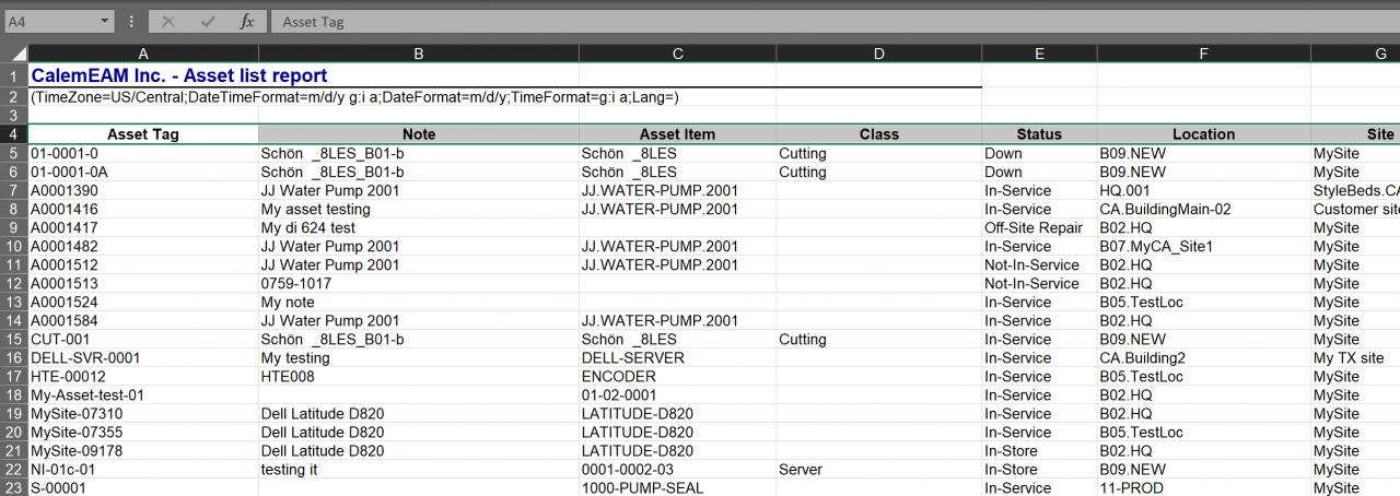 Auto-Library Selection for Excel Export