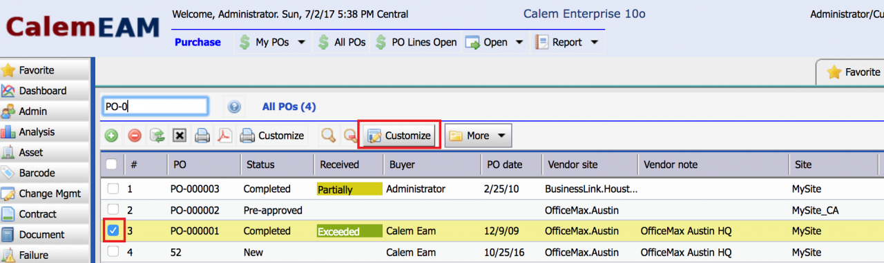 Purchase Order Print Customization Part I