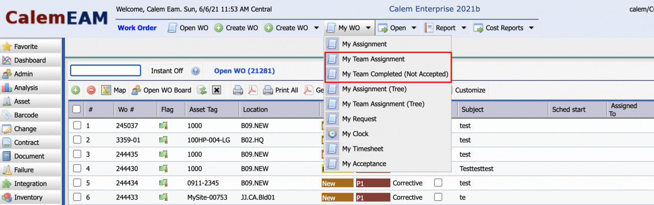 How to Manage Work Orders by Team